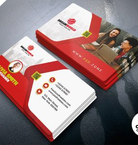 Modern Personal Business Card PSD Templates