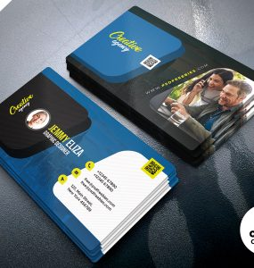 Multipurpose Creative Personal Business Card PSD