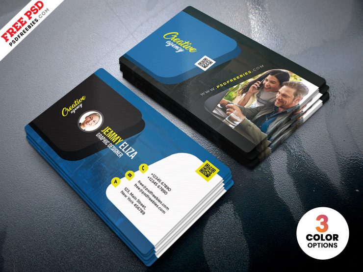 Multipurpose Creative Personal Business Card PSD