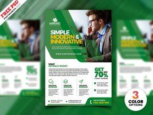 Professional Corporate Flyer Design PSD