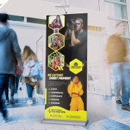 Professional Photography Roll-Up Banner PSD