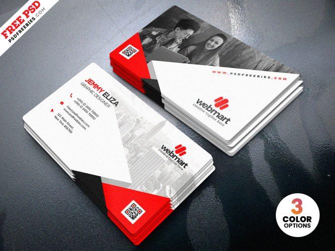 Designer Modern Business Card Template PSD