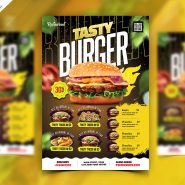 Food Business Promotional Flyer PSD