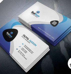 Professional Business Card Design PSD